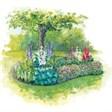 База отдыха Хуторок - иконка «сад» в Шире